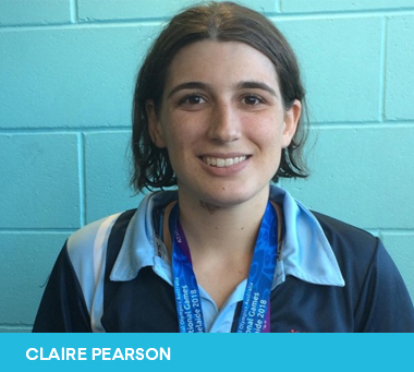 Claire Pearson 2019 Sutherland Shire Young Citizen of the Year Nominee