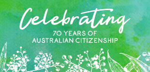 Celebrating 70 years of Australian Citizenship