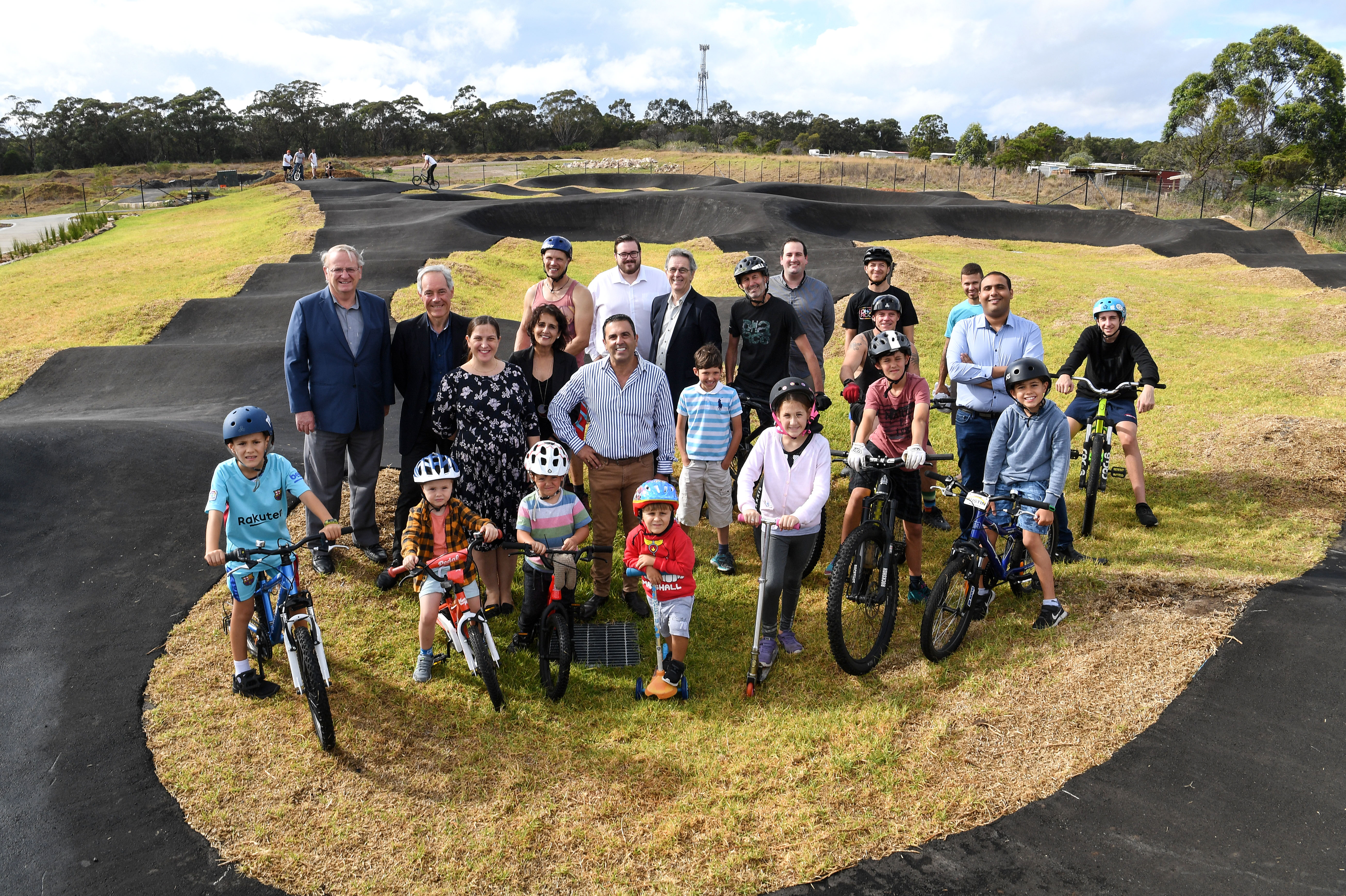 Sutherland Shire Now Home to Second Biggest Pump Track in