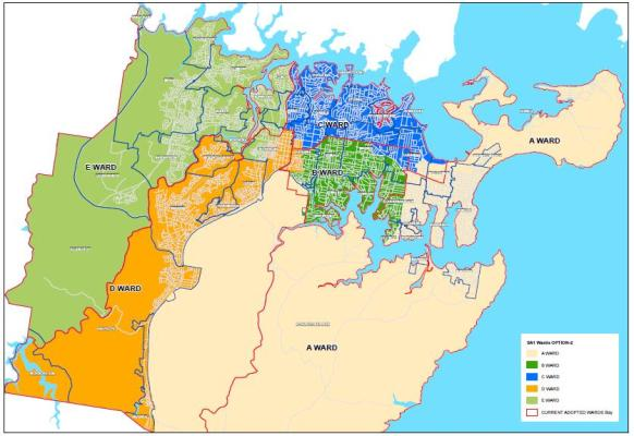 Proposed Changes to Ward Boundaries  Sutherland Shire Council