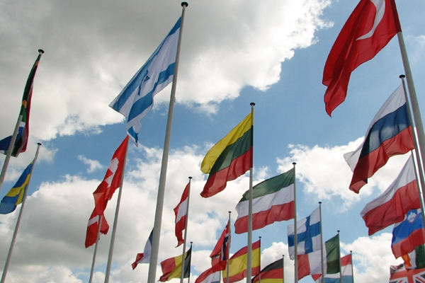 Flags of the world. Image credit: Flags by ftibor on FreeImages.com