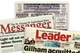 collage of local Sutherland Shire newspapers: Engadine District News, The Messenger and The Leader
