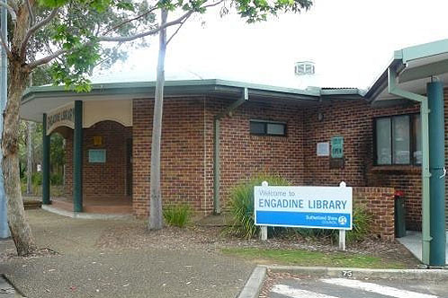 View of Engadine Library from the outside