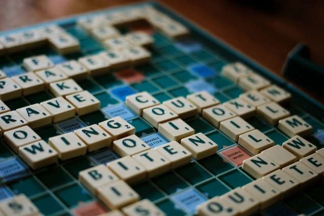 Scrabble game in progress. Photo credit: Scrabble by thebarrowboy on Flickr. cc-by-2.0