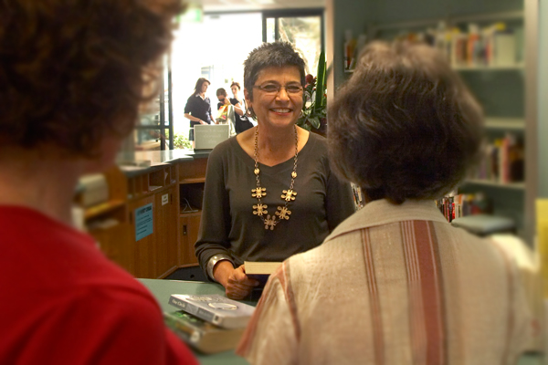 Librarian service customers