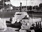 Donald Mackay drinking fountain and sundial, Caringbah, ca. late 1930s