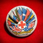Red Cross fundraising badge, 1917