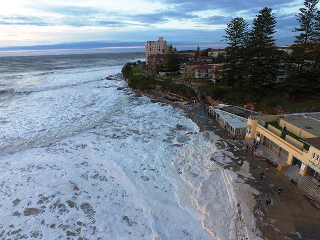 South Cronulla Beach, June 2016. Picture: Locky Gowland