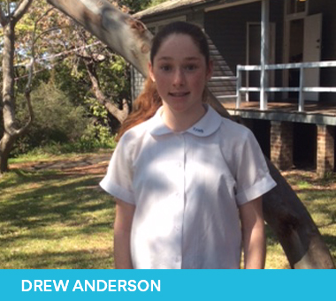 Drew Anderson 2019 Sutherland Shire Young Citizen of the Year Nominee