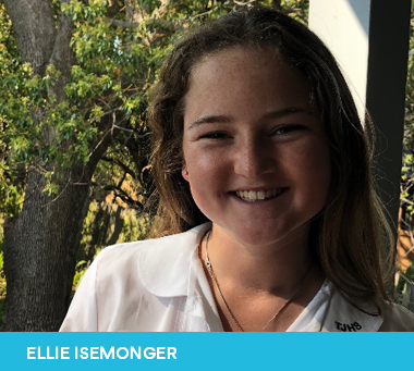 Ellie Isemonger 2019 Sutherland Shire Young Citizen of the Year Nominee