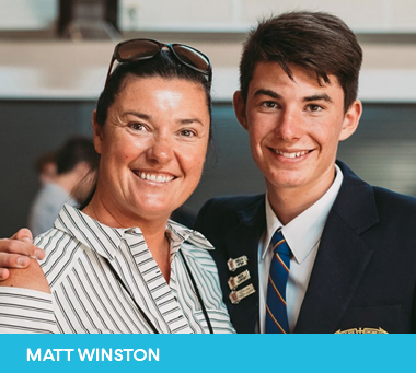 Matt Winston nominated for Sutherland Shire Young Citizen of the Year 2019
