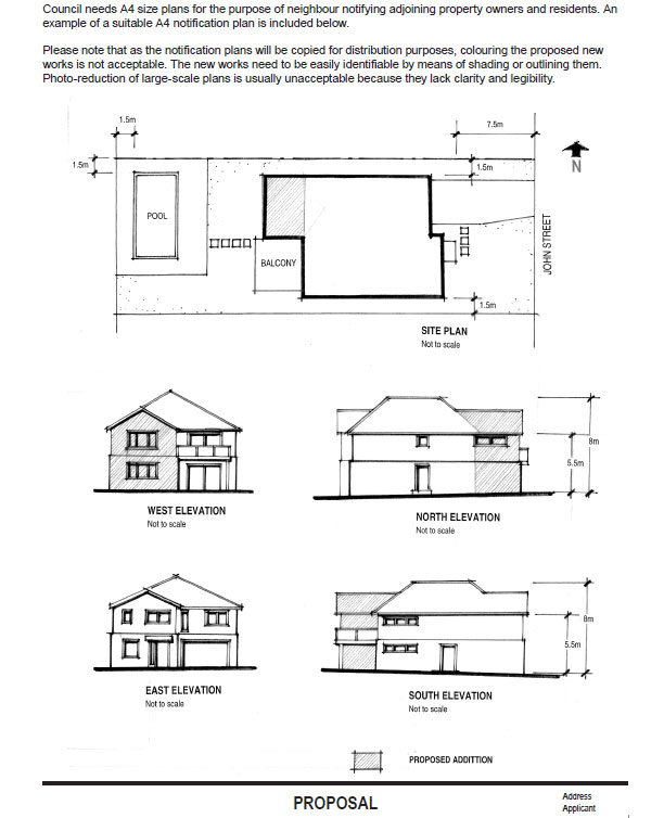 Building Control Submission Drawings