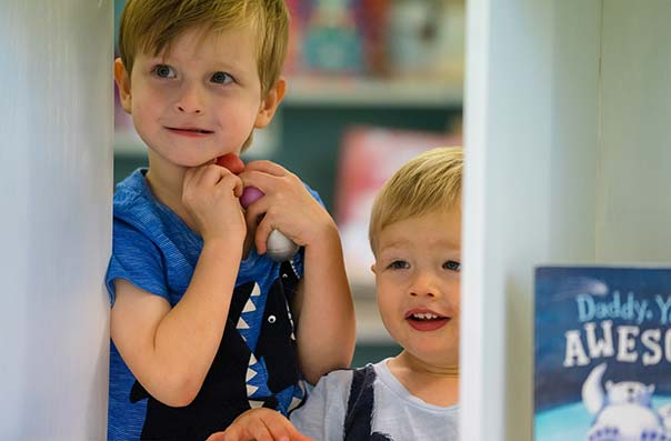 together time -  stories and rhymes at Sutherland Shire Libraries for children 0-6