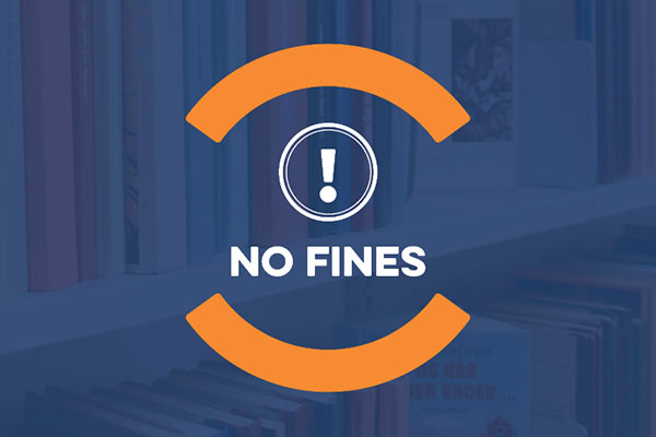 No Fines while the library is closed for COVID-19