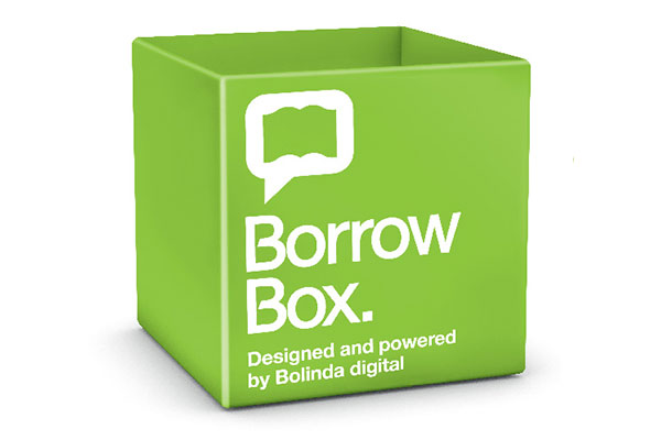 Borrow Box. Designed and powered by Bolinda Digital