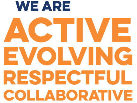 we are active, evolving, respectful, collaborative